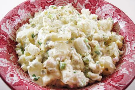 infused potato salad