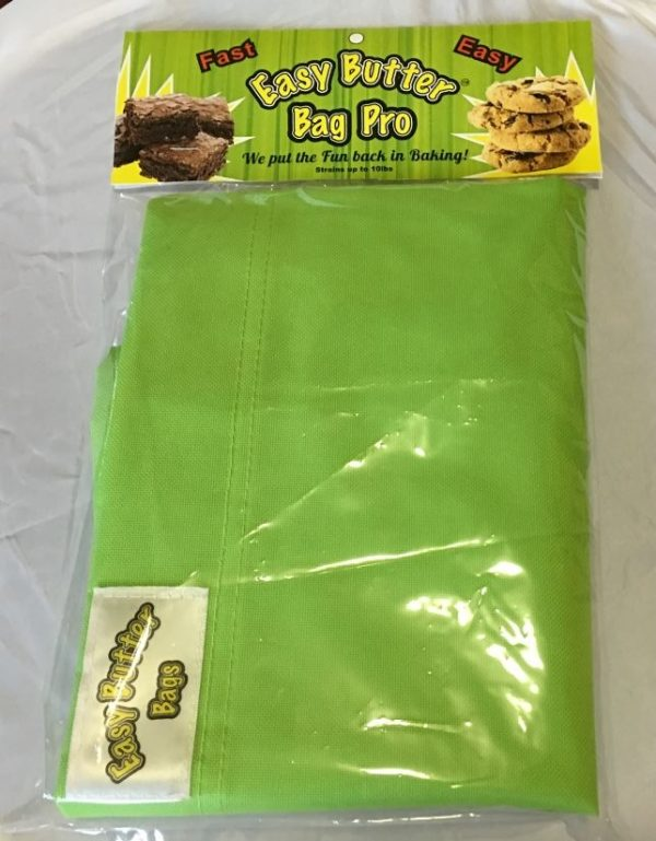 "easy butter 10"" butter bag"
